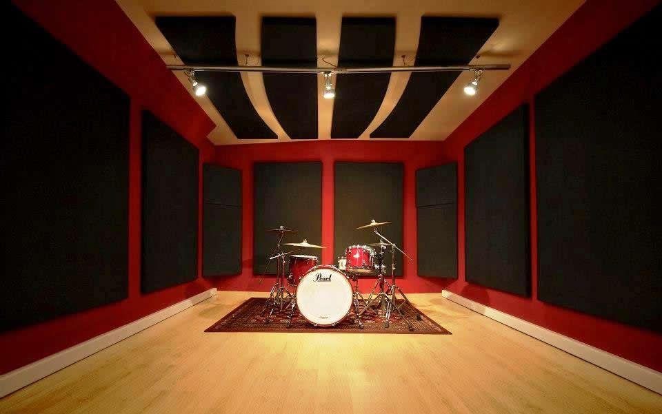 home recording studio acoustic treatment design ideas 2017-2018 - studio profi küchenmaschine