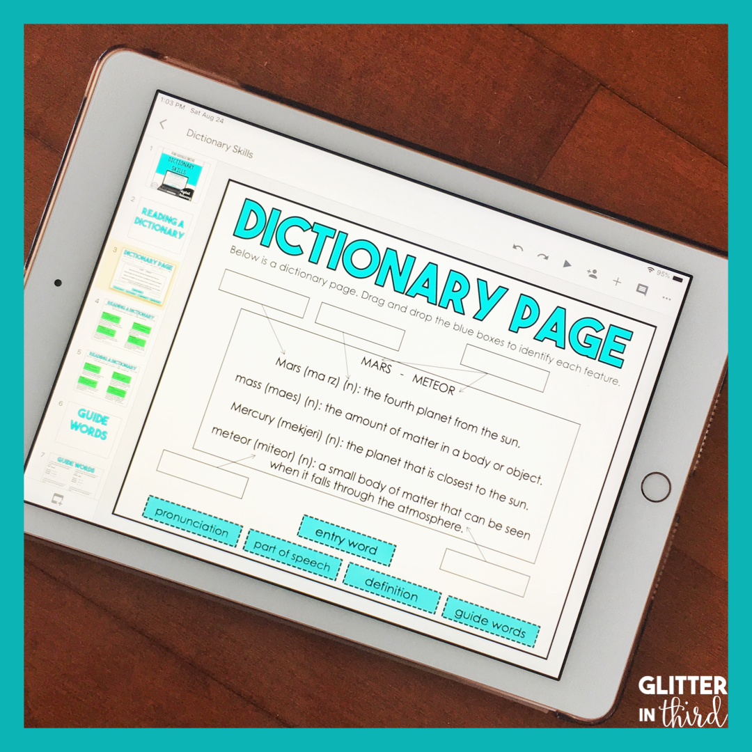 Pin On Dictionary Activities