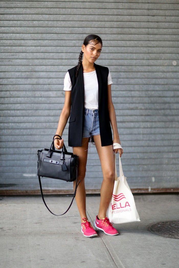 39 Ways To Wear Sneakers In Summer Street Style Guide (4
