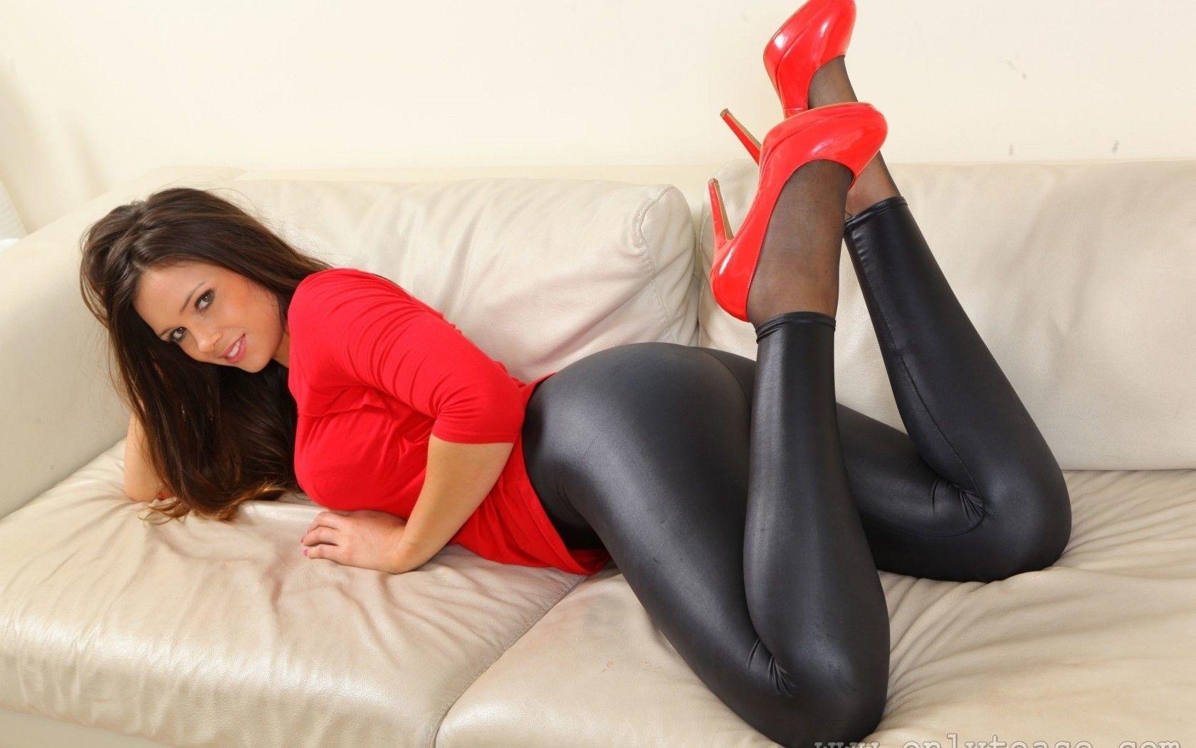 207b876b016 Louisa Marie Wallpaper | Models high heels Louisa Marie HD Wallpaper ...