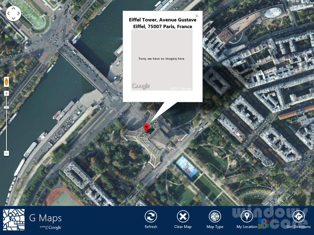 windows 8 s unofficial google maps app we take it for testing