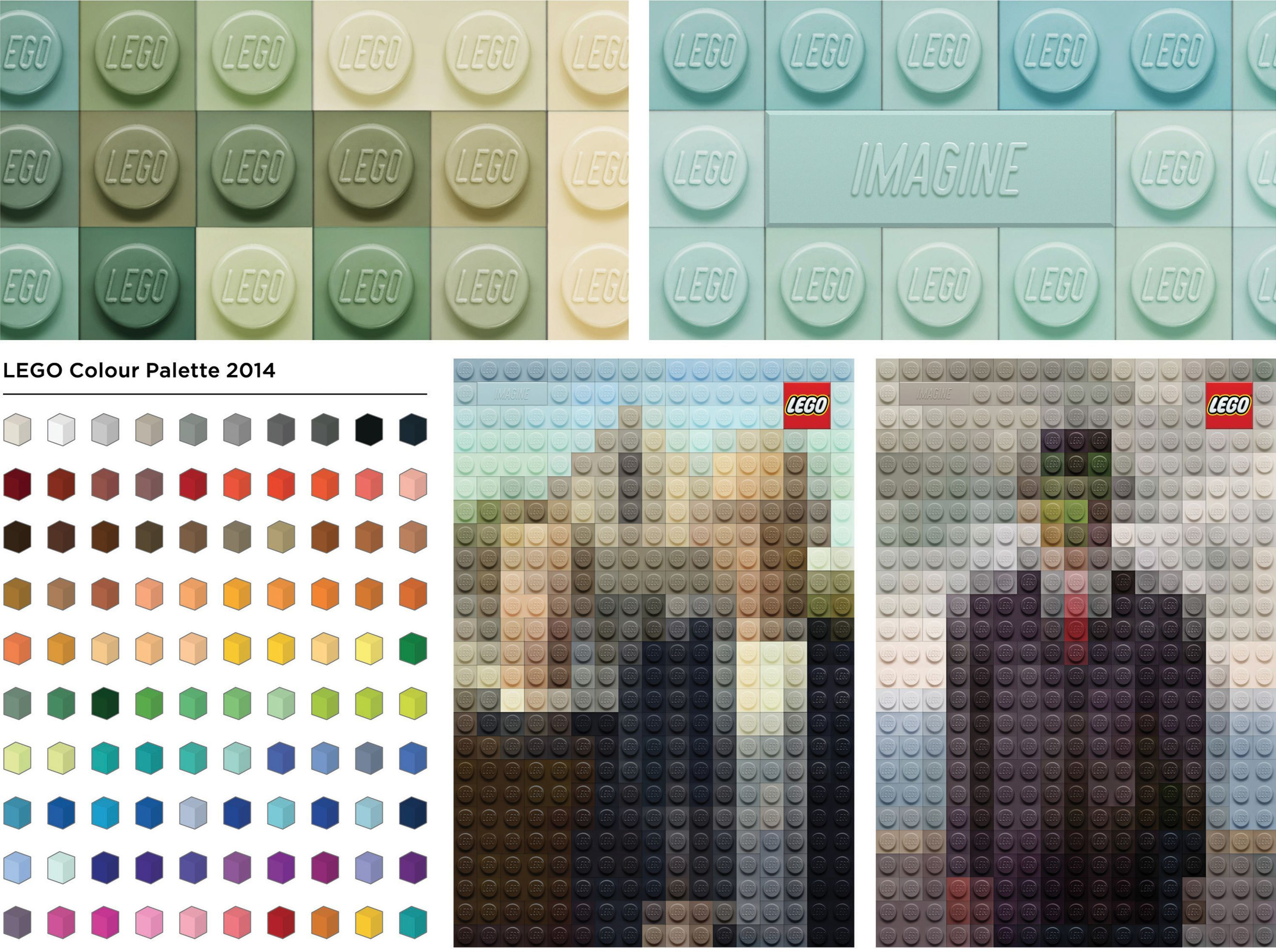 D ad poster design - Magritte Van Gogh Wood Creative Lego Art Advertising Posters Graphic Design Award