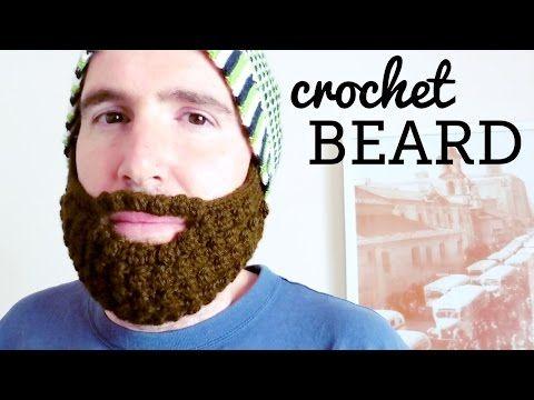 Bobble Beard Crochet Hat Pattern Easy Video Instructions | Gorro con ...