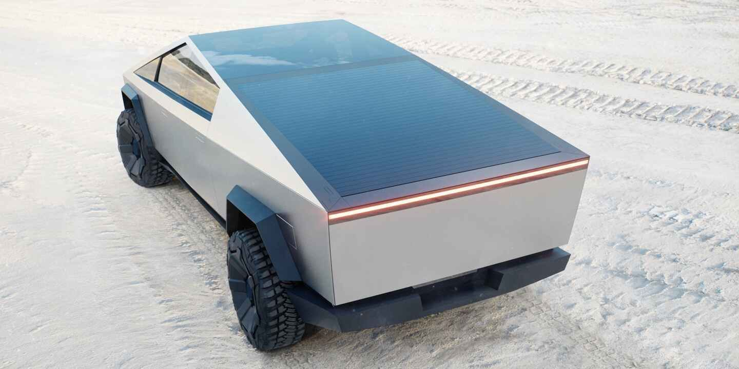 Tesla Cybertruck Will Have Solar Roof Option To Add 15 Miles Of Range Per Day Tesla Electric Pickup Truck Electricity