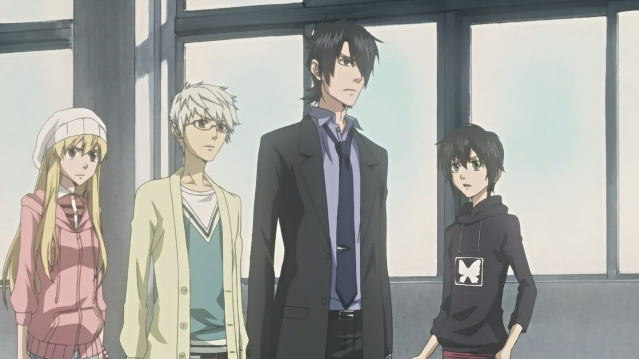 Nabari no ou nabari anime fictional characters