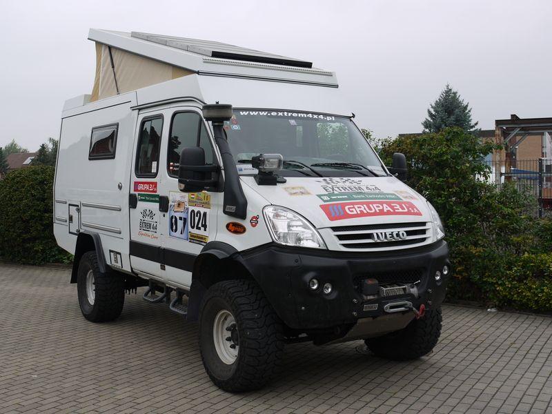 Iveco Allrad Wohnmobil