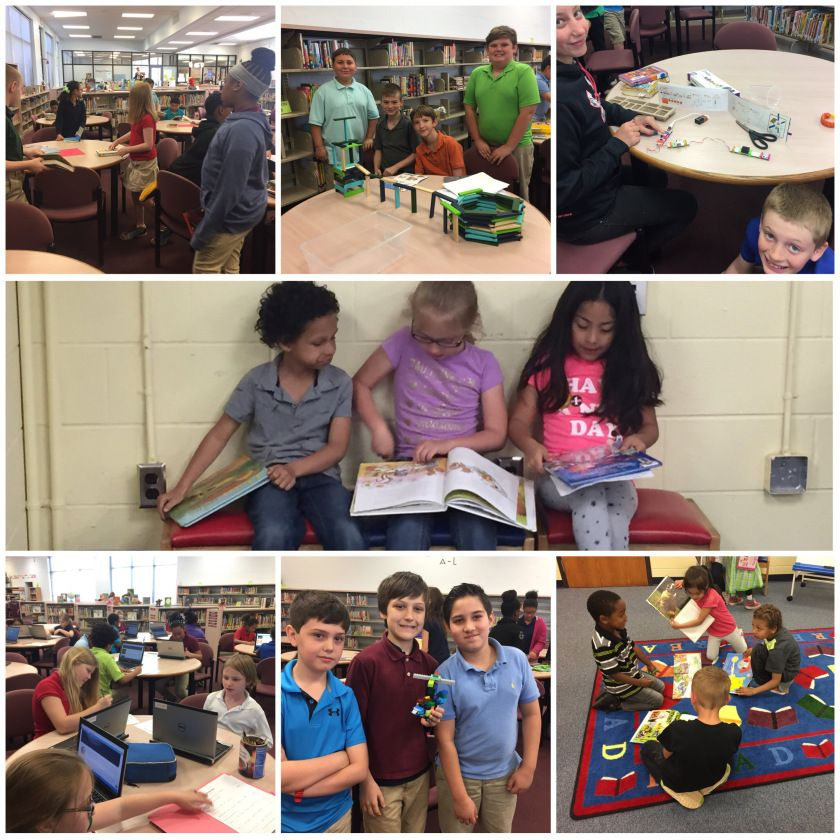 Mrs. Capshaw's Library World - first library classes of the year