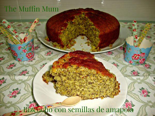 Bizcocho de semillas de amapola | Cocinar en casa es facilisimo.com