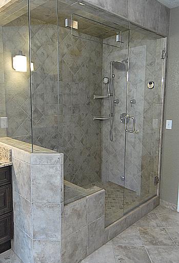 Steam Shower Tiled Ceiling And Walls Bathrooms Remodel Shower Remodel Shower Installation