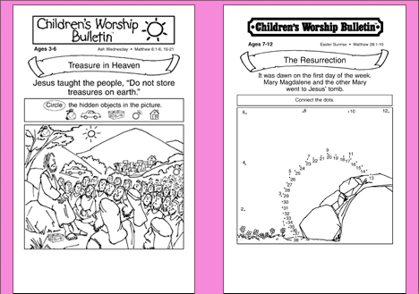 graphic relating to Free Printable Children's Church Bulletins referred to as Pin upon Young children Church #1