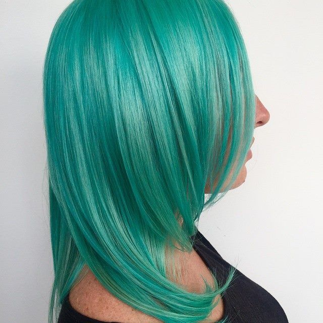 This gorgeous pastel color was created using a cocktail of #SirensSong and #Pastelizer ! Hair credit goes to the talented artists at Corie's Hair Escape