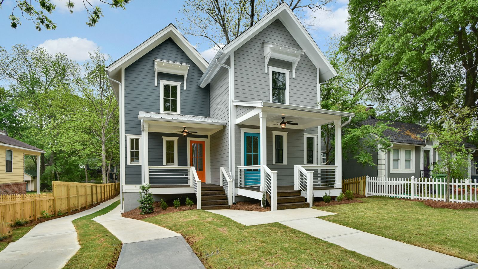 Reynoldstown's latest modern farmhouse goes duplex for