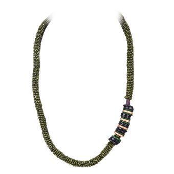 Island Girl Plastic Necklace