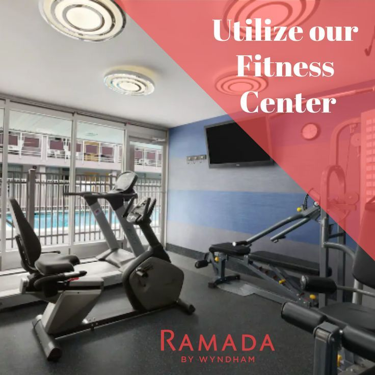 Even while on vacation you can keep up with your gym routine Our fitness center is the perfect space to stay active in between adventures     Its