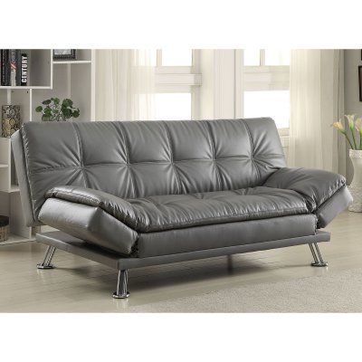 Coaster Everett Convertible Sofa 500096 Futon Sofa Sofa Bed