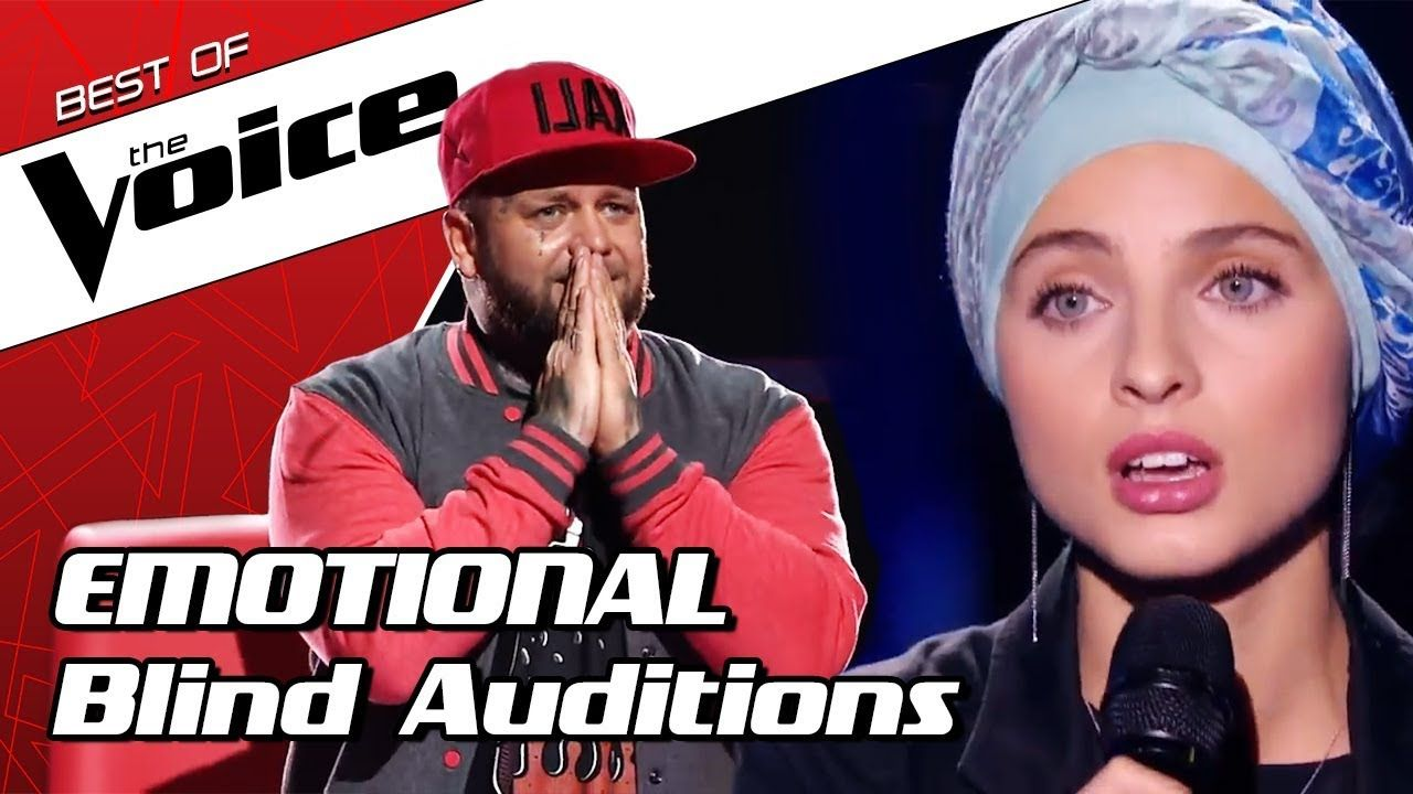 TOP 10 MOST EMOTIONAL Blind Auditions in The Voice that