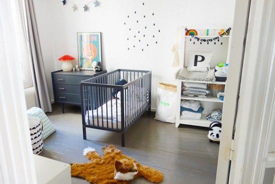 La chambre bébé de Paul