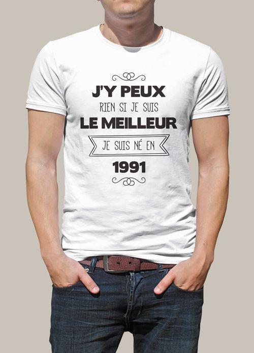 vêtements de sport de performance meilleur en ligne style unique Tee shirt original pour des 25 ans réussi ! Une idée de ...