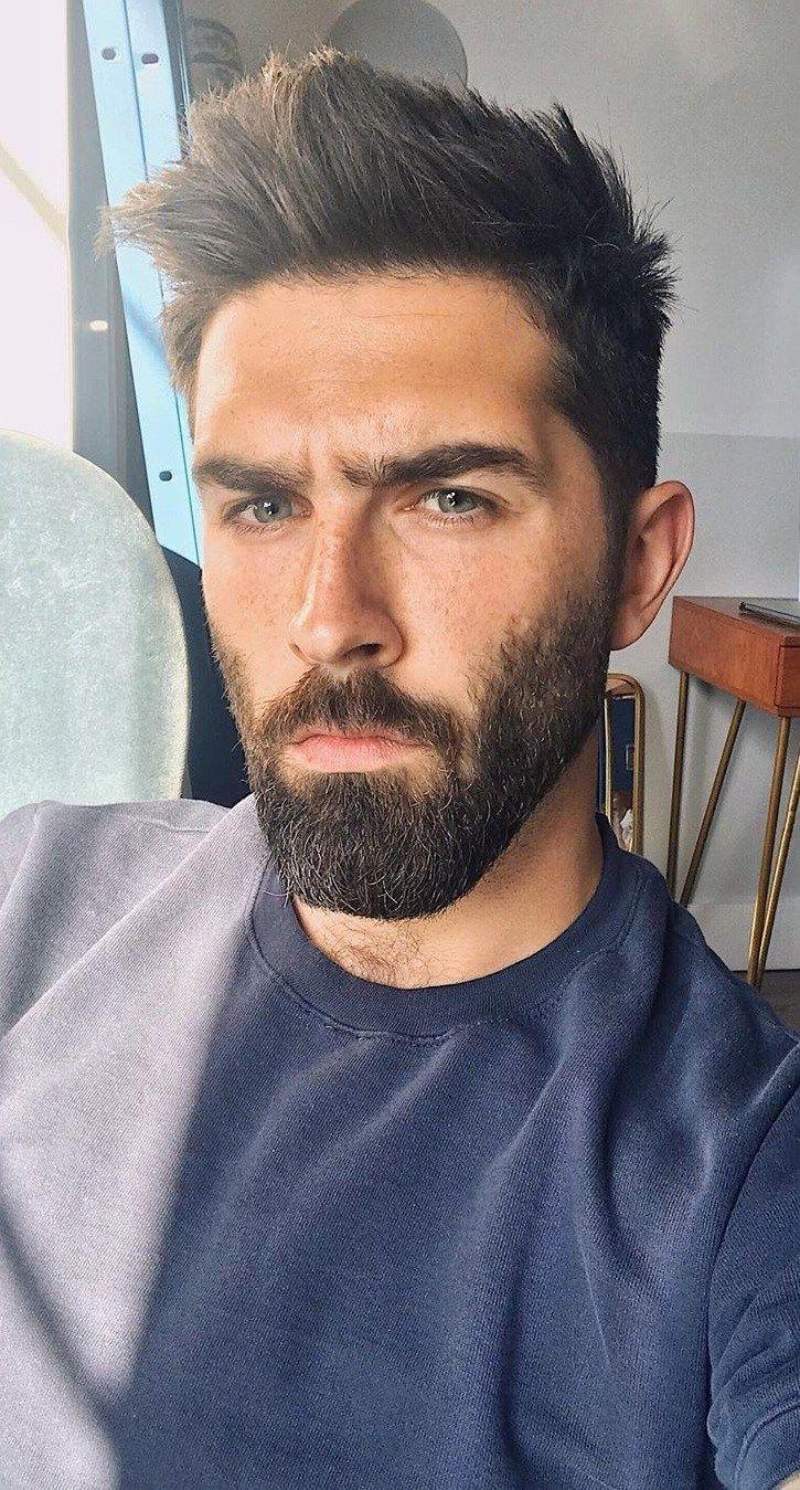 5 Simple (& Easy) Steps for Beard Trimming! | Beard styles, Beard styles short, Round face men