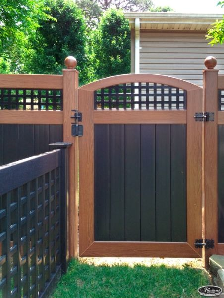 Illusions Pvc Vinyl Fence Photo Gallery Fence For The
