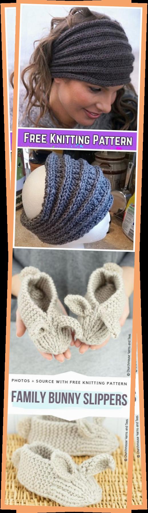 Photo of Knit Saturn Rings Ribbed Headband Free Knitting Pattern