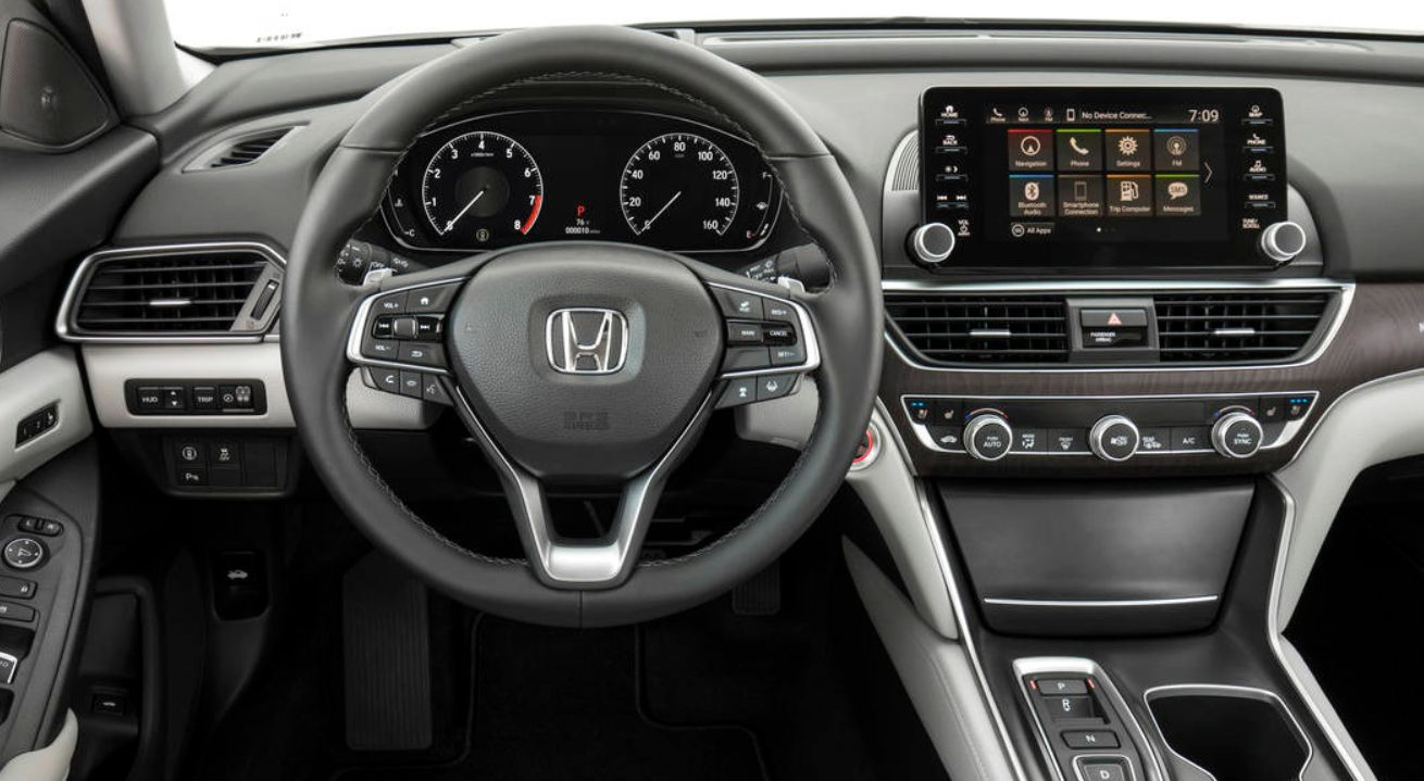 2020 Honda Accord Interior Redesign from 2020 Honda Accord