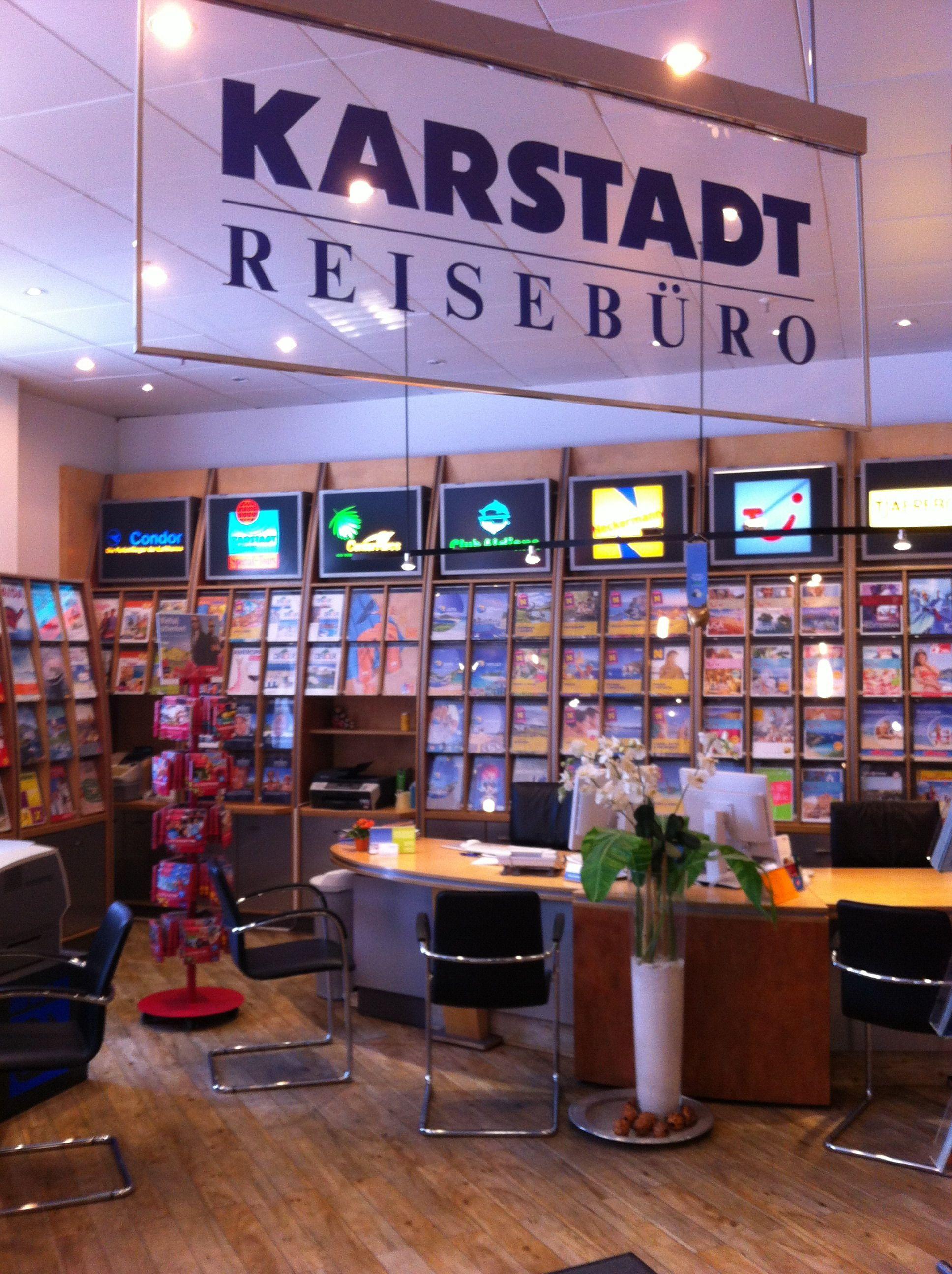 Herzlich Willkommen im Karstadt Reisebüro Hamburg Bergedorf