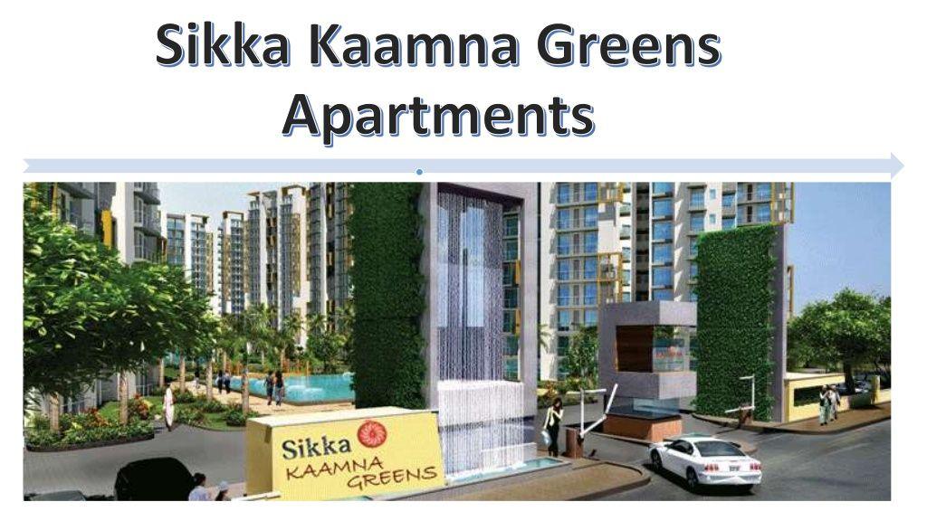 Sikka Kaamna greens noida by Supertech Capetown via slideshare