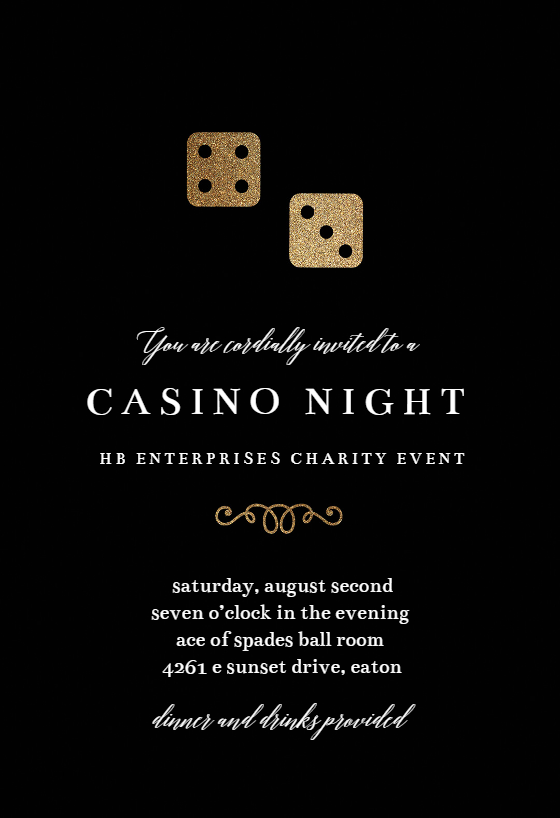 It's just a picture of Free Printable Casino Party Invitations with get together