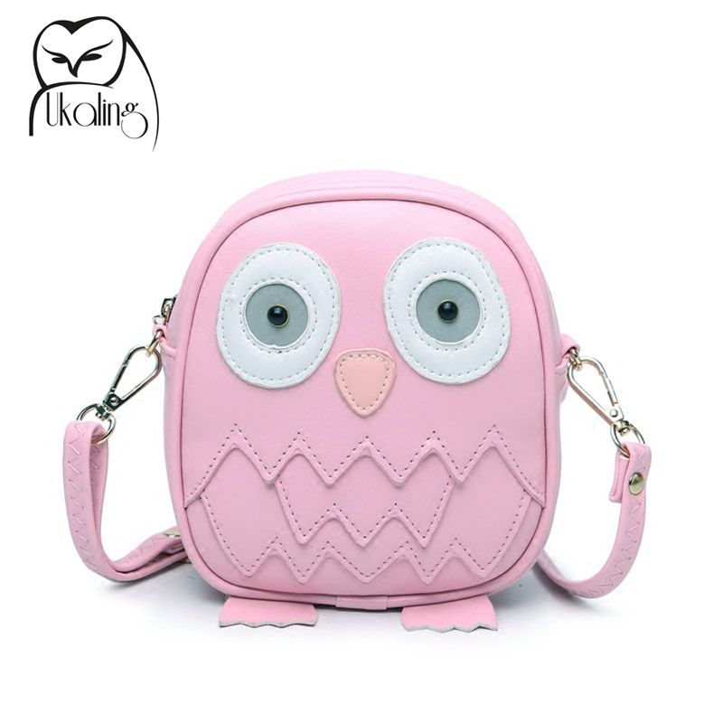 UKQLING Cute Purse Handbag Owl Women Messenger Bags For Summer Crossbody  Shoulder Bag with Belt Strap Lady Clutch Purses Phone 426193a6a9