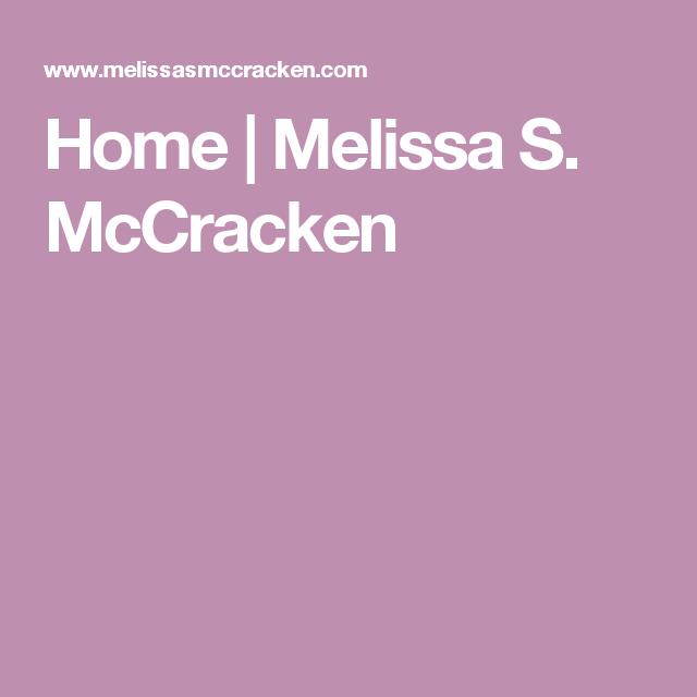 Home | Melissa S. McCracken