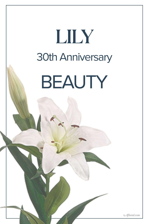 30th Wedding Anniversary Flower 30th Wedding Anniversary