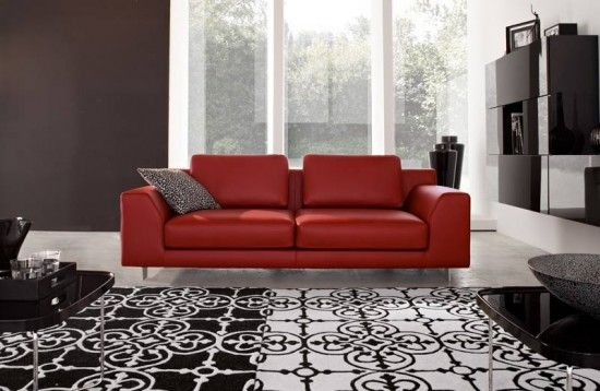 Superb 17 Stylish Living Room Designs With Red Couches