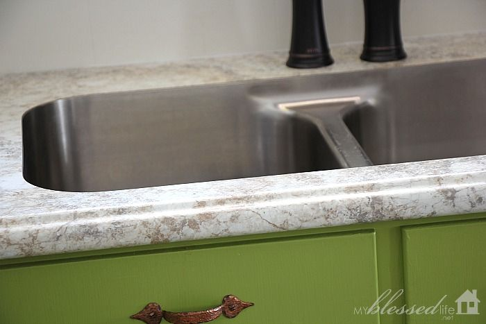 Beautiful Formica 180fx Laminate Countertop With Undermount Sink |  MyBlessedLife.net