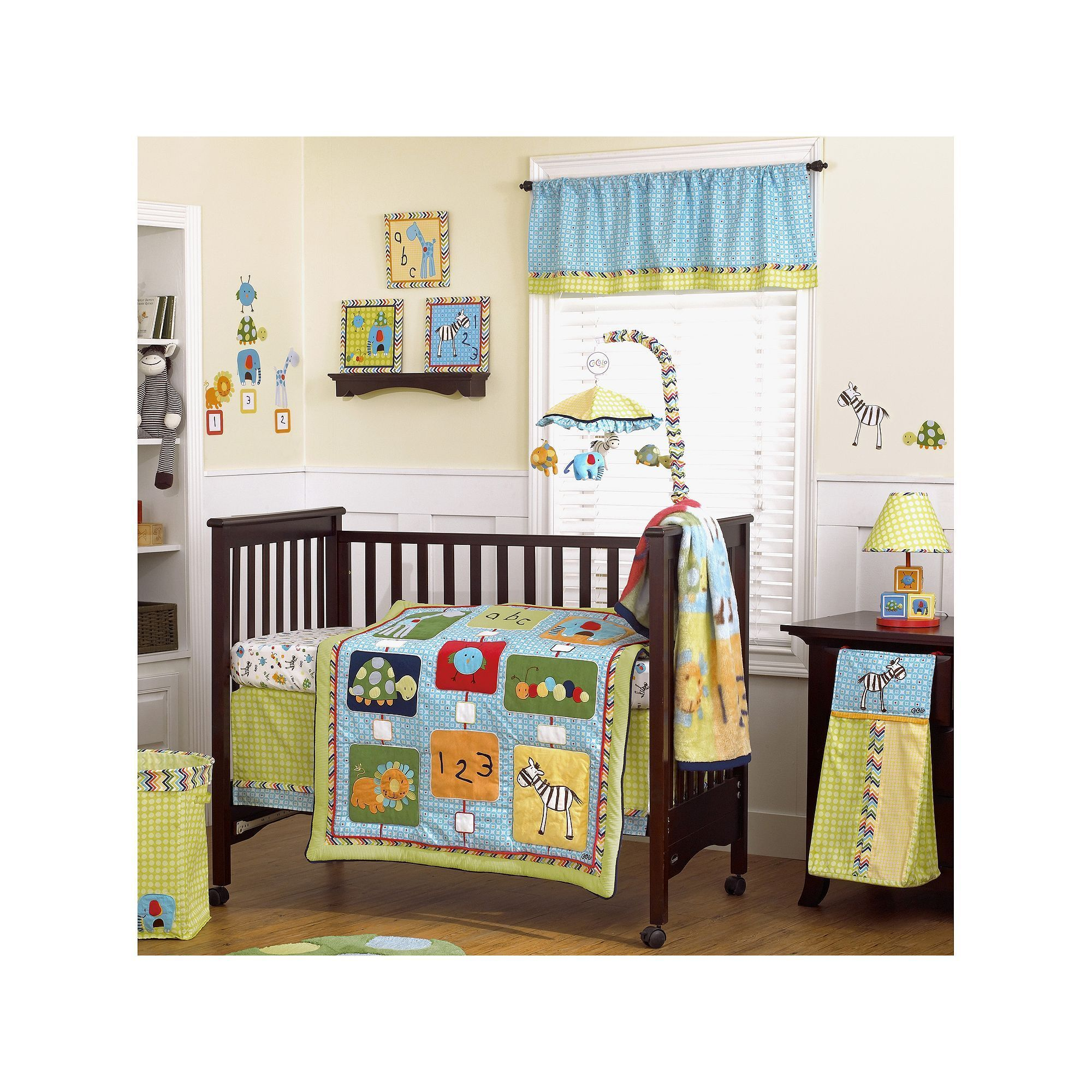 cocalo baby brooklyn 4 pc crib bedding set products pinterest