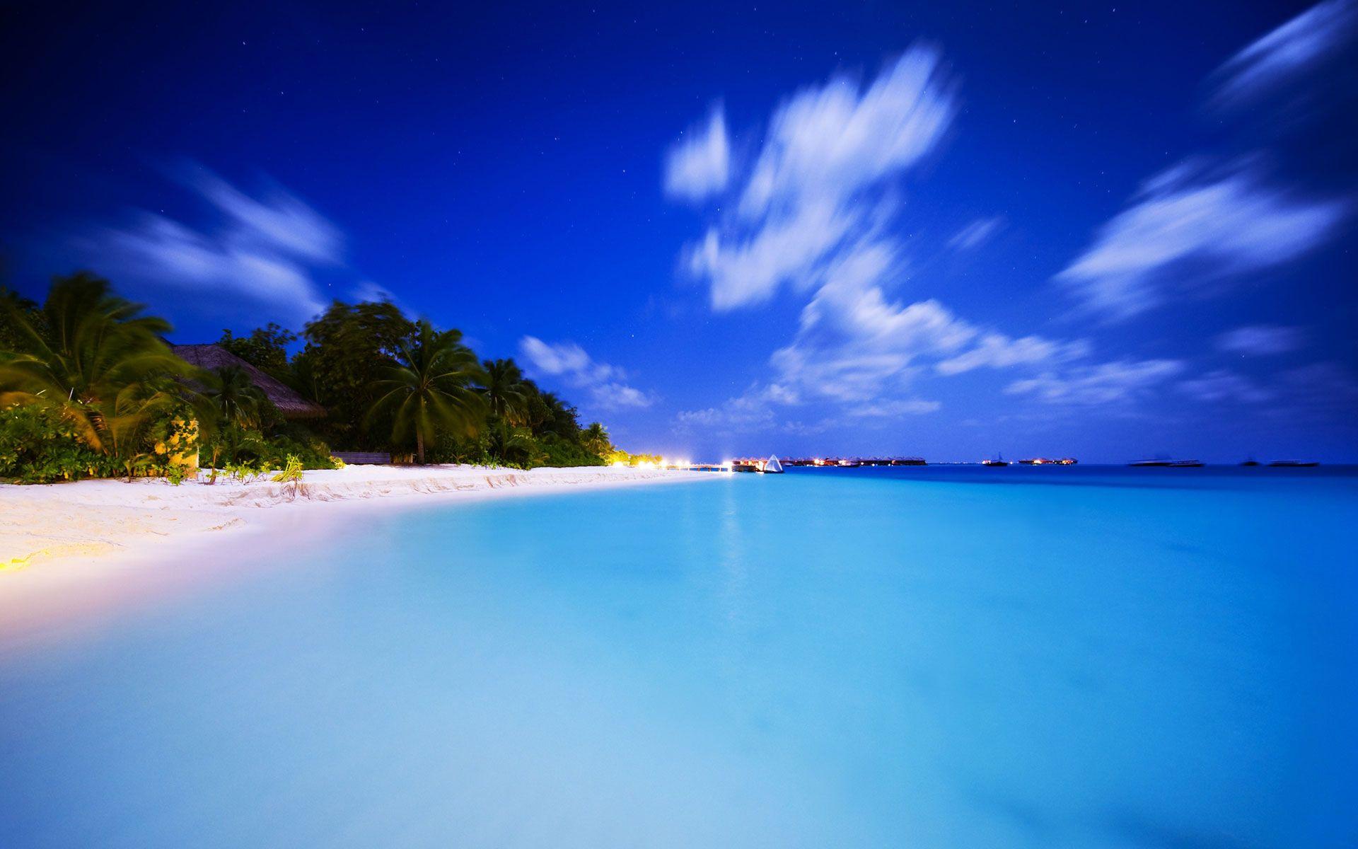 Tropical Paradise Beach Hd Wallpaper For Nexus 7 Screens: Paradise Tropical Island HD Wallpaper