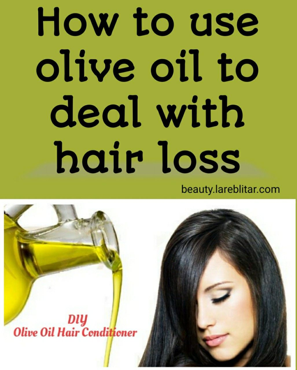 what does olive oil do to your hair