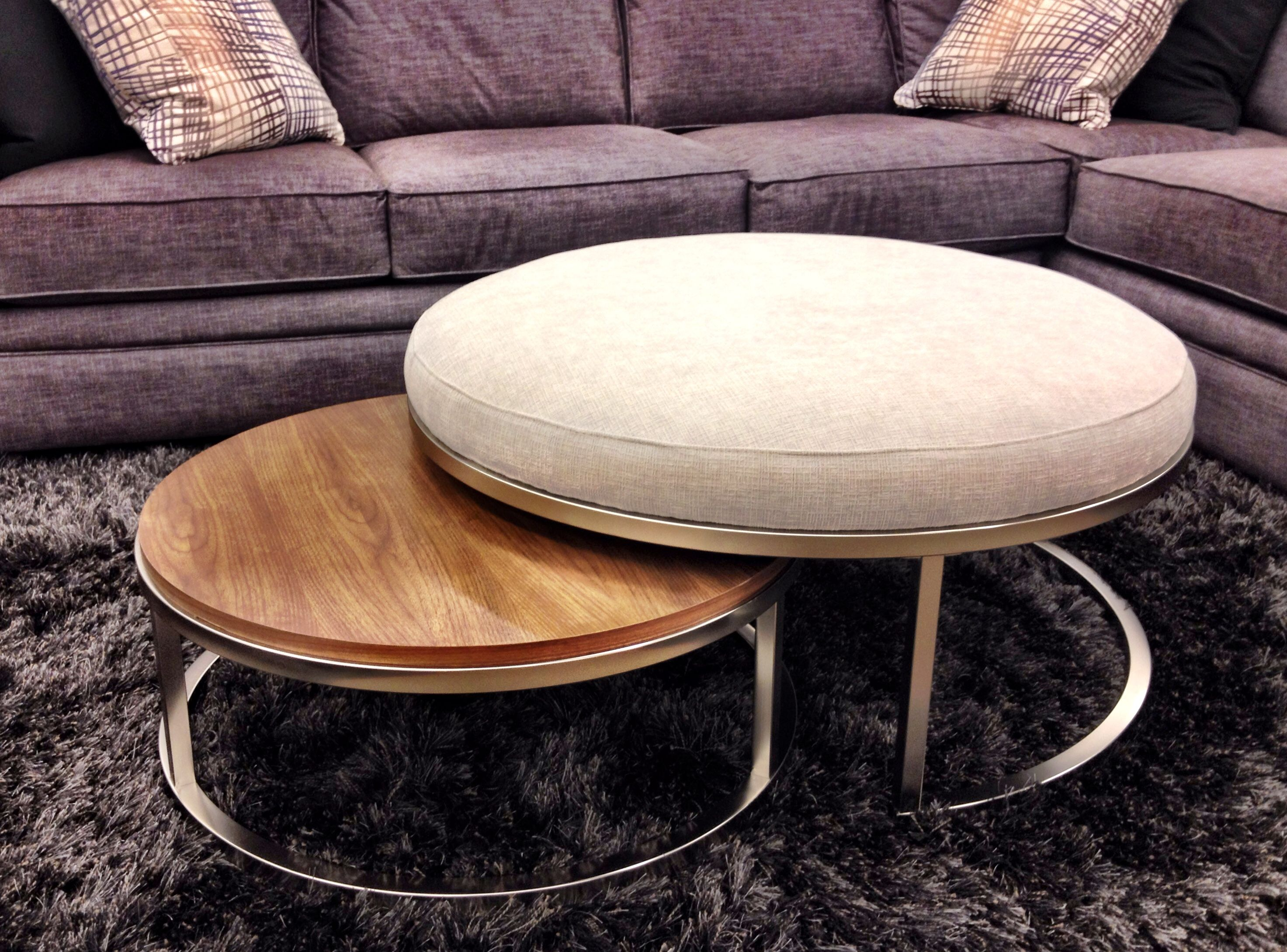 The Best Of Both Worlds Set Of 2 Nesting Coffee Table Ottoman