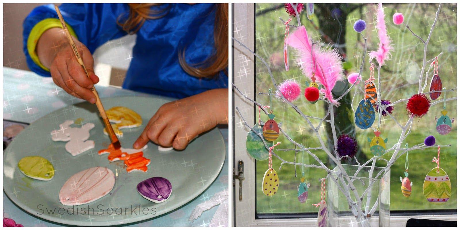 Creative easter fun for kids.