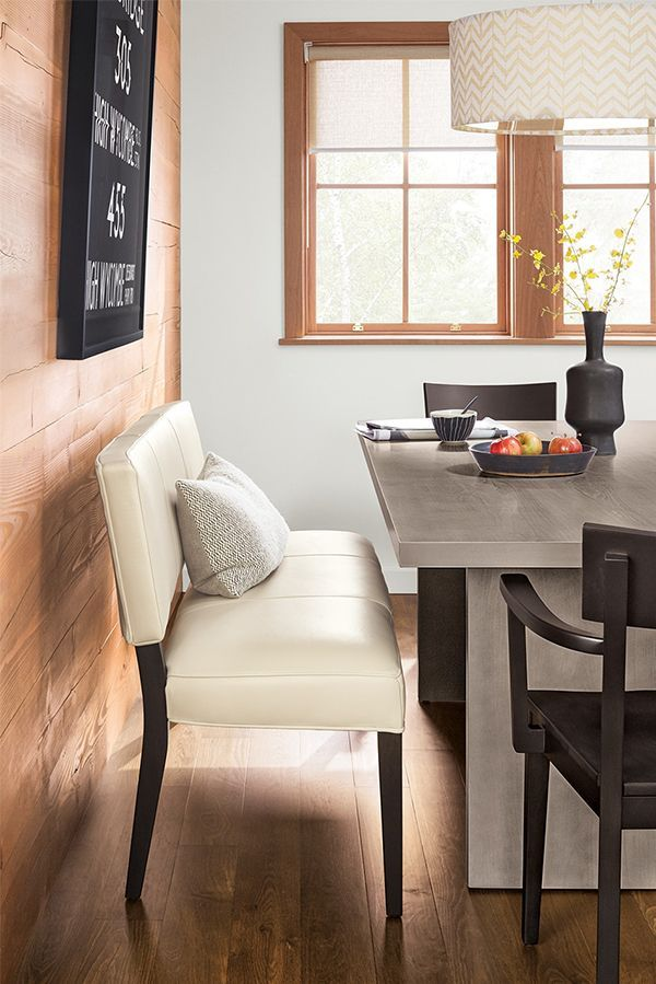 Linger Longer At The Dining Table With A Leather Dinning Bench