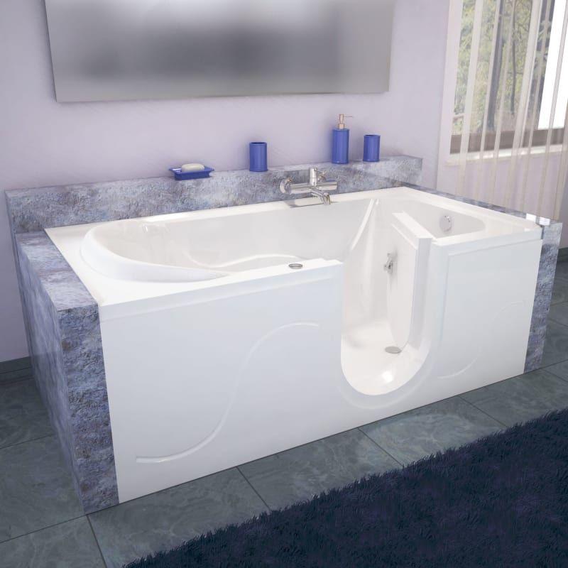 Meditub 3060sirh Walk In Tubs Walk In Bathtub Bathtub Remodel