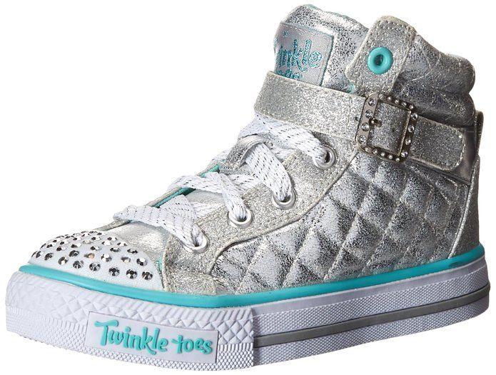 : Skechers Kids Twinkle Toe Heart and Sole Light
