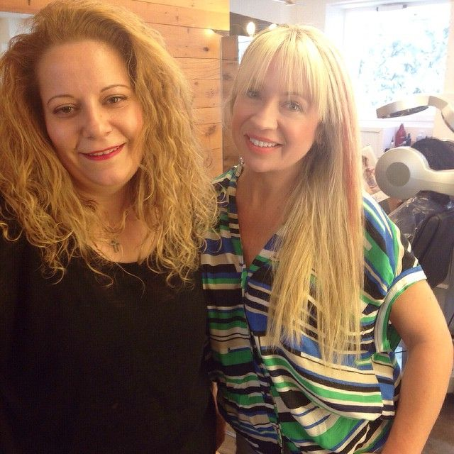 With Anna my #fabulous #hair #colorist! Thanks for the #pumpering!� #Refreshed with my #blonde #highlights & for a change some #pink ones!� #Love them! #haircolor#coloring#haircolorist#hairstylist#styling#instablonde#potd#plastiras#glyfada#vickysstylecom#style#stylelook#styleblogger#fashion#fashiongram#fashionista#instagood#ootd#lookoftheday#blondehighlights#pinkhighlights