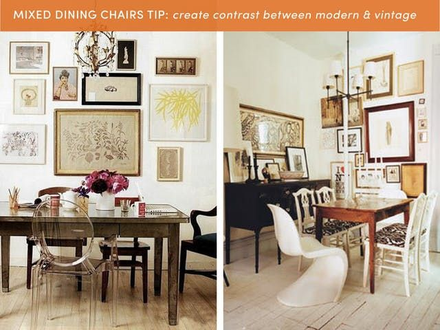 10 Style Tips For Pulling Off A Mix Match Dining Set Dining