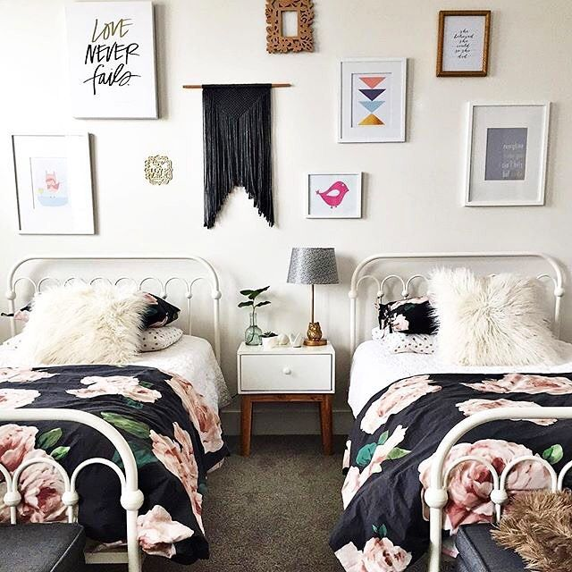 25 Awesome Shared Bedroom Ideas For Kids: Girls Bedroom, Kids Room, Shared