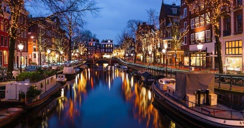 Natal em Amsterdã #viajar #amsterdam #holanda