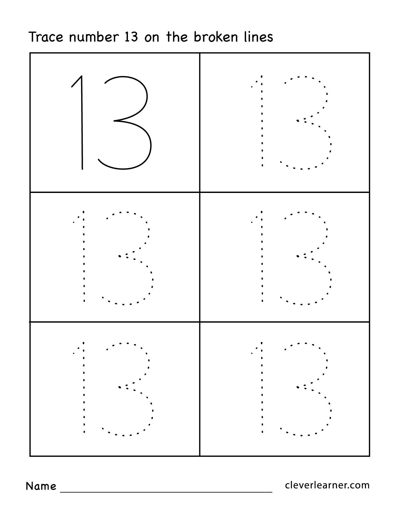 Free Practice Pages For Children