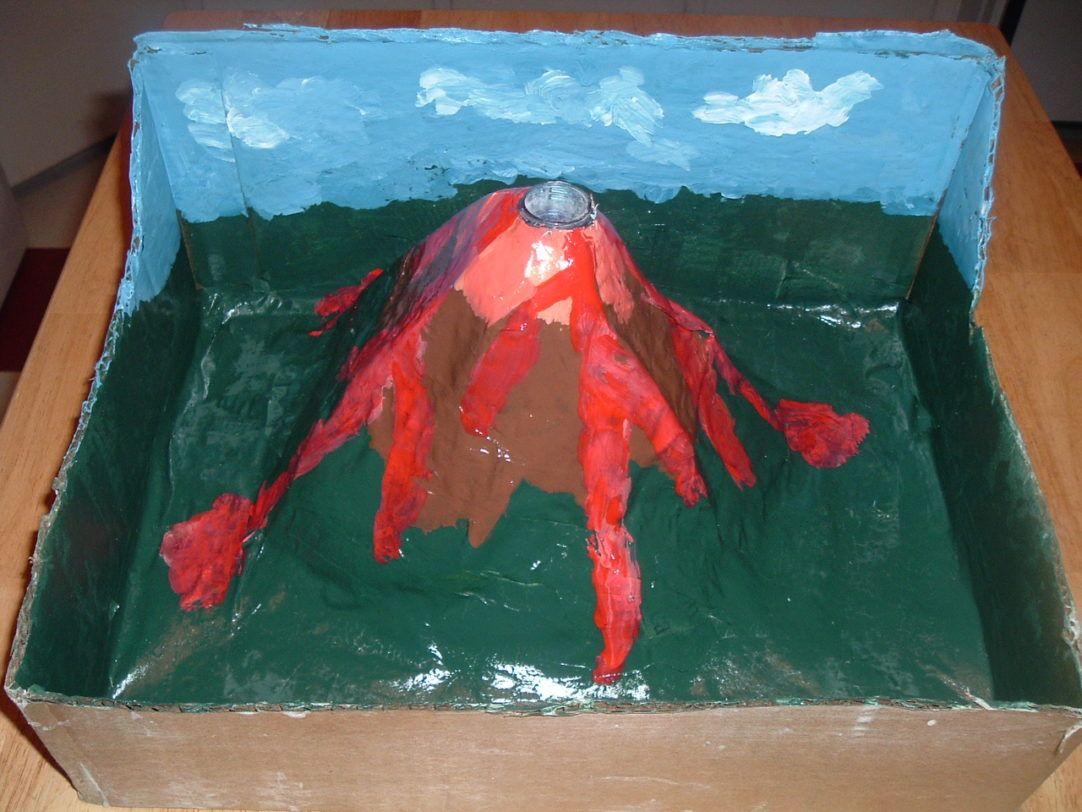 Basic Earth Science Projects For Kids How To Make A Volcano Hurl Cosmic Material Into Space