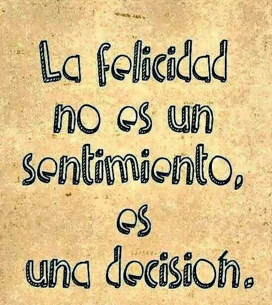 Es una decisión