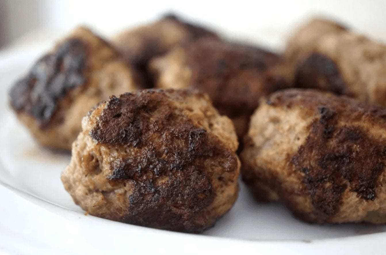 Beef Liver Meatballs Liver Recipes Food Liver And Onions
